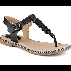 SPERRY Anchors Away leather sandal